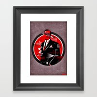 Mad Men Poster Framed Art Print