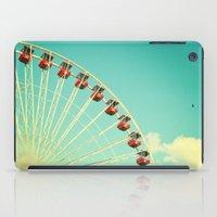 Summer At Navy Pier iPad Case