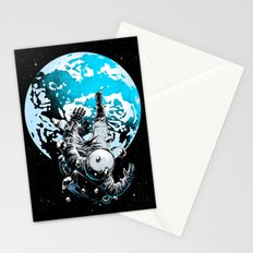The Lost Astronaut  Stationery Cards