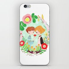 Happy Valentine's Day iPhone & iPod Skin