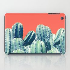 Cactus on Coral #society6 #decor #buyart iPad Case