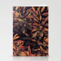 leaves evolved 5 Stationery Cards