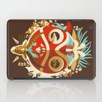 The Days Of Gods And Dem… iPad Case