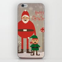 Happy Christmas iPhone & iPod Skin