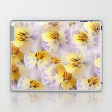 Pastel Vintage Pansies 2 Laptop & iPad Skin