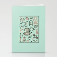 Cosmic Frontier  Stationery Cards