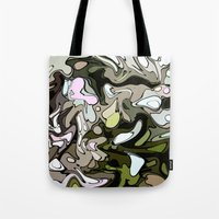 Out in the woods Tote Bag