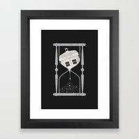 Spacetime Framed Art Print