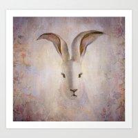 Madame Rabbit Art Print
