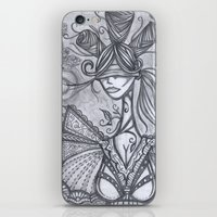 Blind Sensibility (Sketc… iPhone & iPod Skin