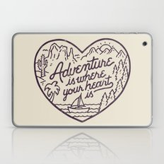 Adventure Is Where Your … Laptop & iPad Skin