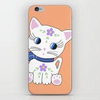 Bella The Cat iPhone & iPod Skin
