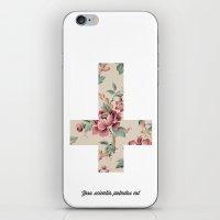 Flower Cross iPhone & iPod Skin