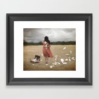 Something To Cling To Framed Art Print
