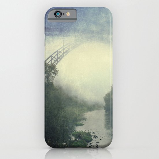 Bridge - River - Fog iPhone & iPod Case