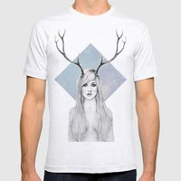 La Belle Degout Mens Fitted Tee Ash Grey SMALL
