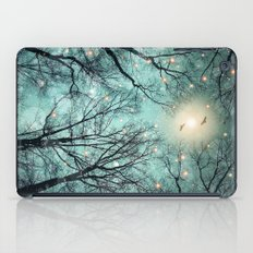 Nature Blazes Before Your Eyes (Mint Embers) iPad Case