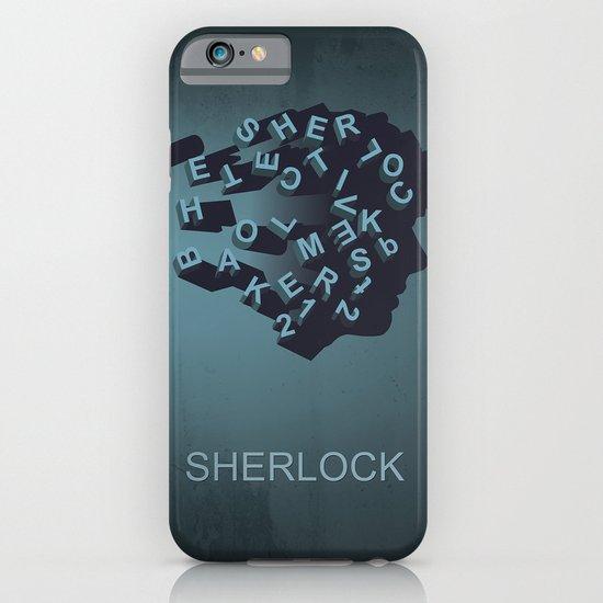 Sherlock Holmes iPhone & iPod Case