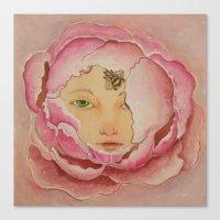 Bloom: Peony Canvas Print