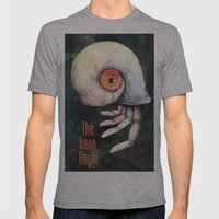 The keen finger Mens Fitted Tee Athletic Grey SMALL