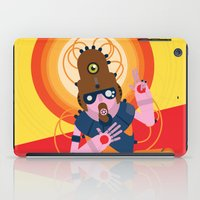 The inscrutable Lord ov Data iPad Case