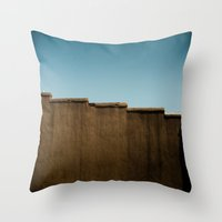 Running On Rooftops Throw Pillow