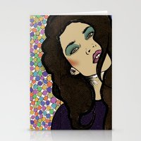Dotty Girl Stationery Cards