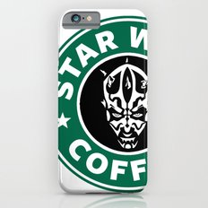 Star Wars Coffee (Darth Maul) iPhone 6 Slim Case