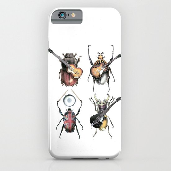 Meet the Beetles (white option) iPhone & iPod Case