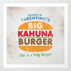 Big Kahuna Burger Art Print