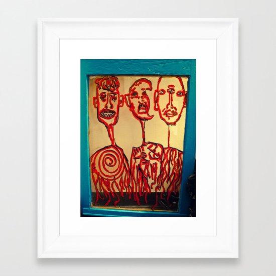 we belong  Framed Art Print