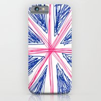 iPhone & iPod Case featuring UK by R.Bongiovani