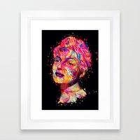 Rita Framed Art Print