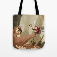 Knubby The Dwarf Fights … Tote Bag