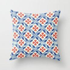 Mediterranean Mosaic Throw Pillow