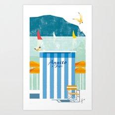 Illustre Conero - Annito & son Art Print