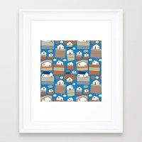 Pattern Project #40 / Li… Framed Art Print