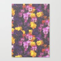 Violets And Pearls Canvas Print