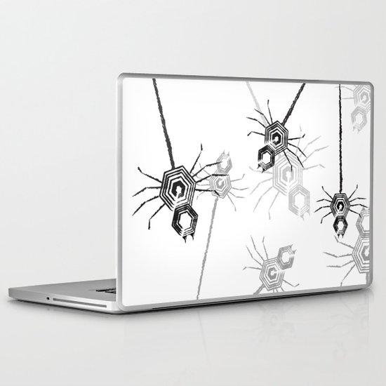 Spiders, spiders, everywhere Laptop & iPad Skin