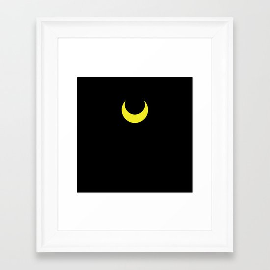 Sailor Moon - Luna Framed Art Print