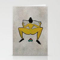 CMY Poo Stationery Cards