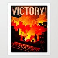 World War Z Art Print