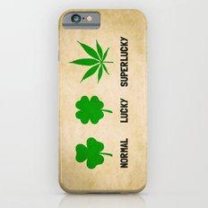Cannabis / Hemp / Shamrock - Super Lucky mode Slim Case iPhone 6s