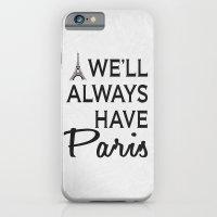 Paris Poster 01 iPhone 6 Slim Case