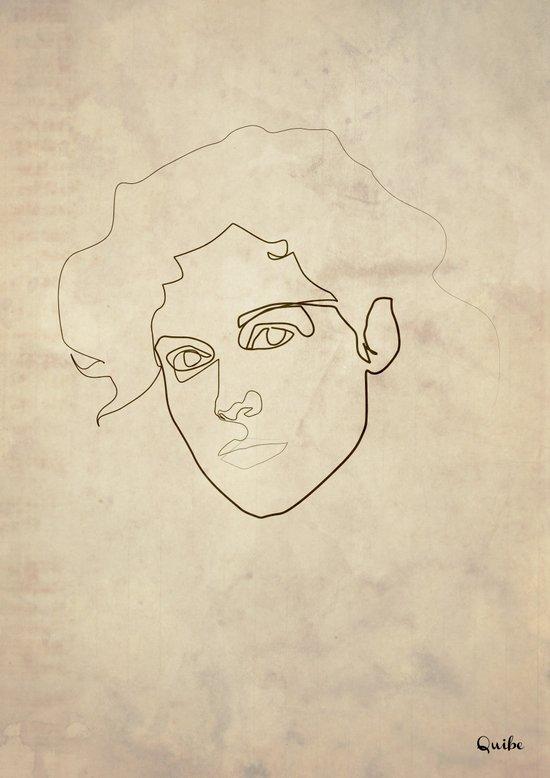 One Line Ellen Ripley Canvas Print