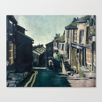 Haworth, England Canvas Print