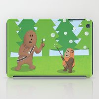 SW Kids - Chewie Bubbles iPad Case