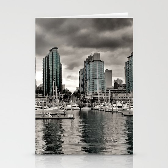 Vancouver Waterfront Stationery Card
