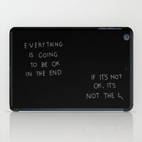 It Is OK iPad Case