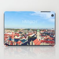 Munich Skyline iPad Case